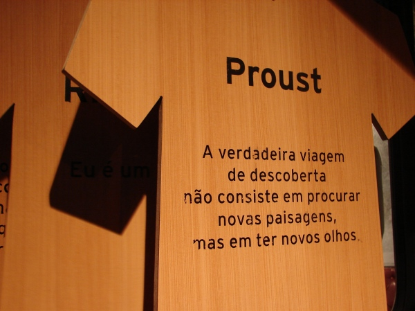 no museu da língua portuguesa